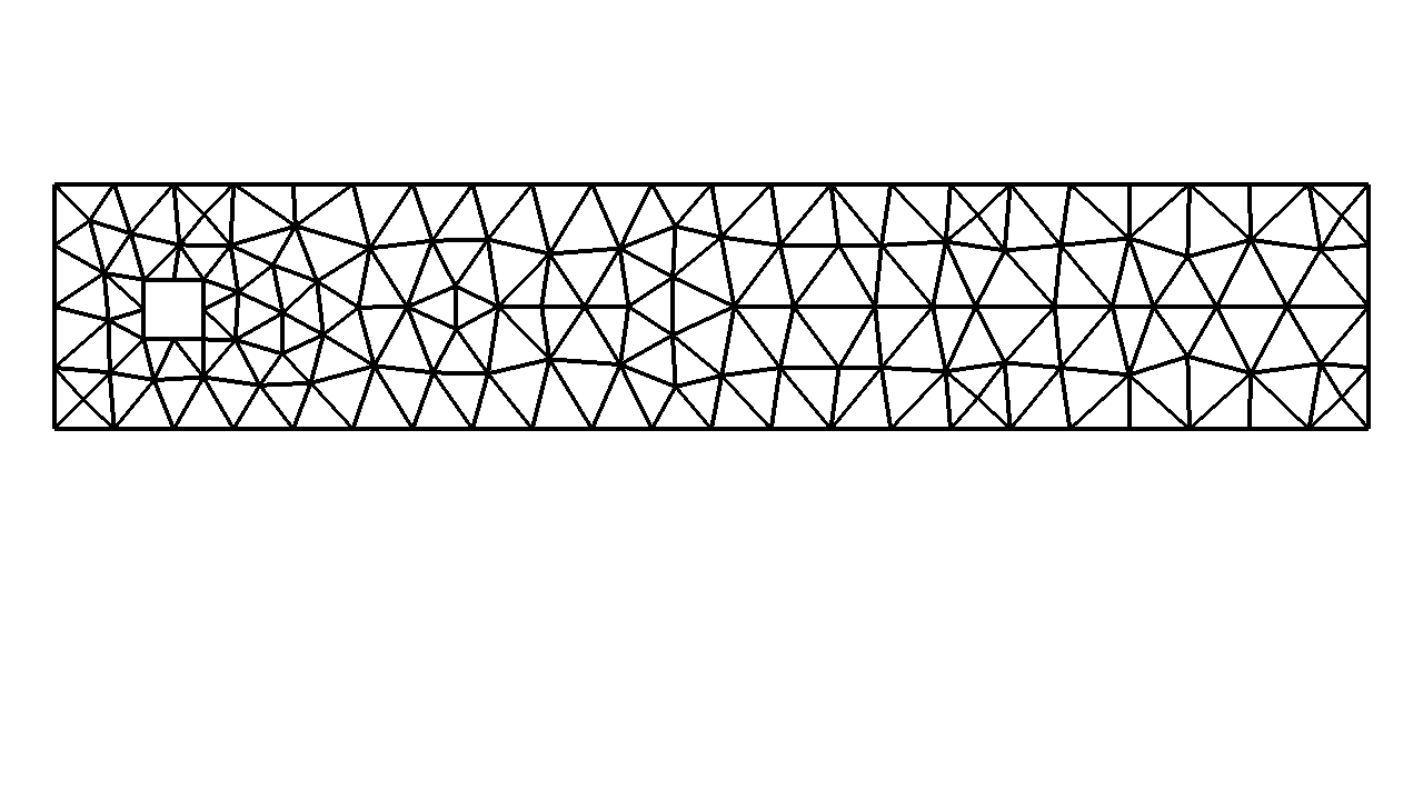 A visualization of the coarse mesh used in the previous picture.